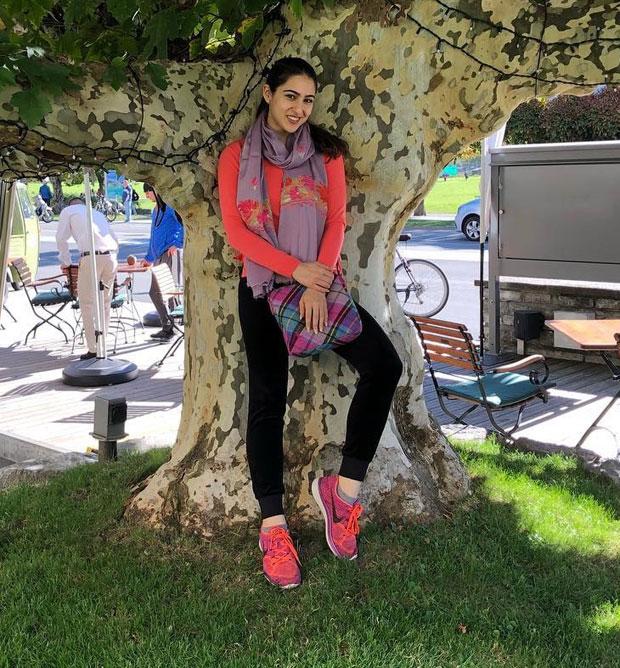 SIMMBA: Sara Ali Khan turns adventurous as she shoots in Switzerland for the Ranveer Singh starrer