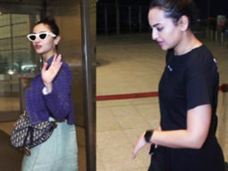 SPOTTED:Alia Bhatt ,Sonakshi Sinha & others at Airport