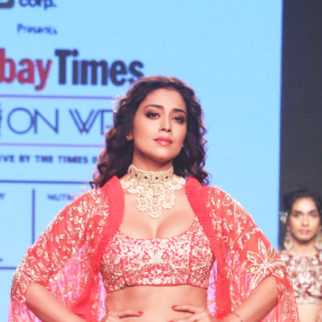 Shriya-Saran-walks-on-Ramp-at-Bombay-Times-Fashion-Show