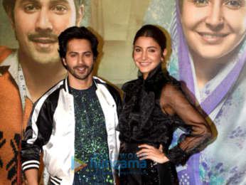 Varun Dhawan and Anushka Sharma grace the success press conference of 'Sui Dhaaga - Made in India'