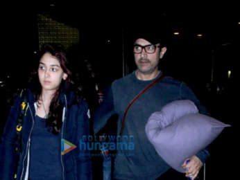 Aamir Hanı, Ira Hanı, Disha Patani ve diğerleri havaalanına takıldı