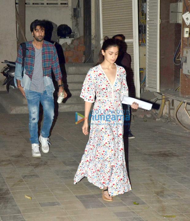 Brahmastra couple Ranbir Kapoor and Alia Bhatt begin prep for next schedule with dance rehearsals