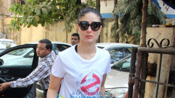 Kareena Kapoor Khan spotted outside the gym