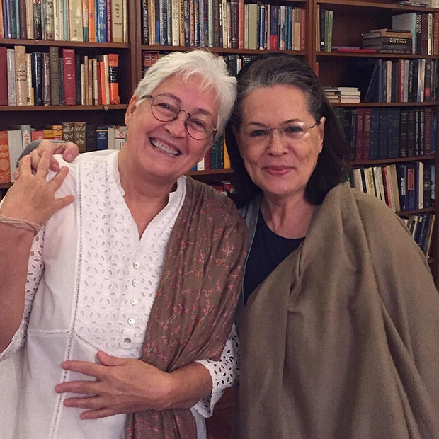 Nafisa Ali speaks about being diagnosed with cancer; meets up old friend Sonia Gandhi