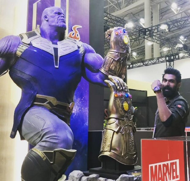 Rana Daggubati joins Avengers star Tom Hiddleston, Justice League's Ezra Miller, Harry Potter stars James Phelps and Oliver Phelps at Comic Con Tokyo