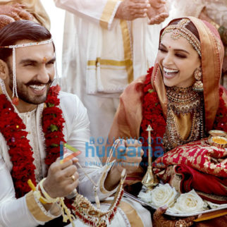 Ranveer Singh and Deepika Padukone snapped during their wedding in Italy