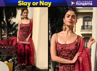 Slay or Nay - Alia Bhatt in Sabyasachi for the Kolkata Film Festival (Featured)
