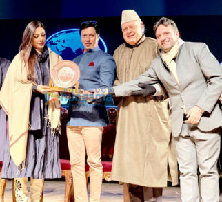 Tabu and Madhur Bhandarkar felicitated at Kashmir World Film Festival in Srinagar