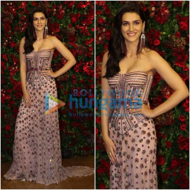 Kirti Sanon at Ranveer Singh - Deepika Padukone wedding reception