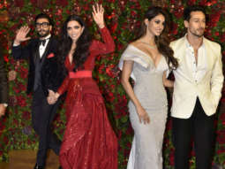 Sanjay Dutt,Tiger Shroff, Disha Patani & others at Ranveer-Deepika Wedding Reception