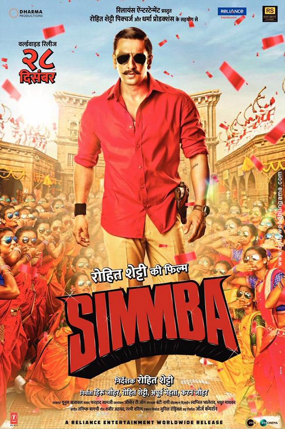 SIMMBA (2018) con RANVEER SINGH + Jukebox + Sub. Español + Online Simmba-2