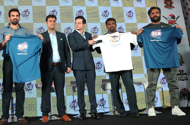 Suniel Shetty and Zaheer Khan join hands to launch Ferit Cricket Bash