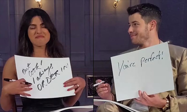WATCH: From first kiss to alone time, Nick Jonas and Priyanka Chopra share STEAMY and INTIMATE details in newlyweds game for Vogue