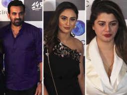 Zaheer Khan, Hardik Pandya, Krystle D'Souza & others at Restaurant Launch