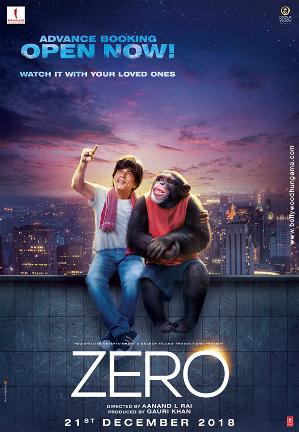 ZERO (2018) con SRK + Jukebox + Sub. Español + Online Zero-7