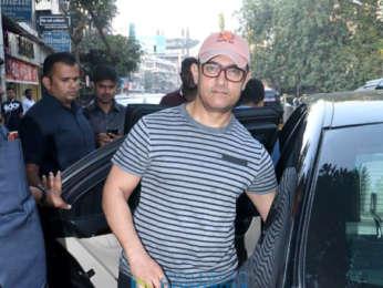 Aamir Khan, Bandra'ya döndü