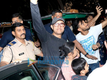 Aamir Han Bandra'da görüldü