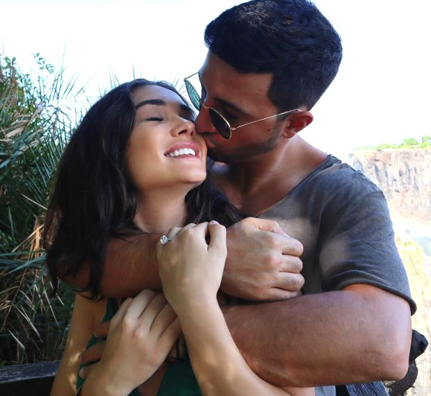 Amy Jackson gets ENGAGED to British BF George Panayiotou