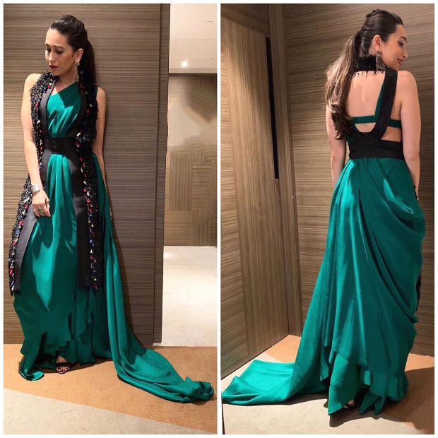 Karisma Kapoor in Anamika Khanna for a brand endorsement event (2)