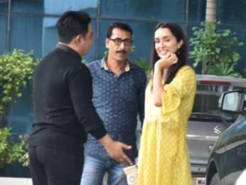 Shraddha Kapoor snapped at Sajid Nadiadwala's office in Andheri