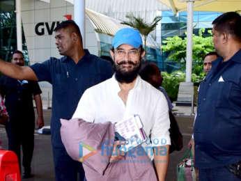Photos: Aamir Khan, Tara Sutaria, Sidharth Malhotra, Bhumi Pednekar and others snapped at the airport