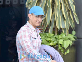 Photos: Aamir Khan snapped at the airport