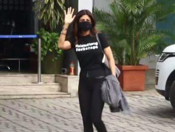 Shilpa Shetty heads to Manali for Hungama 2 shoot