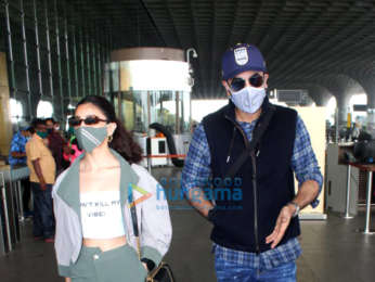 Photos: Ranbir Kapoor, Alia Bhatt, Urvashi Rautela, Mouni Roy and others snapped at the airport
