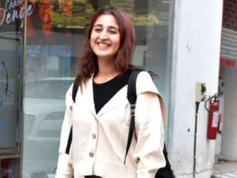 Dhvani Bhanushali spotted at T-series office in Andheri