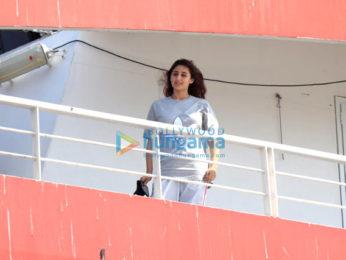Photos: Dhvani Bhanushali snapped at M2M Ferry wharf