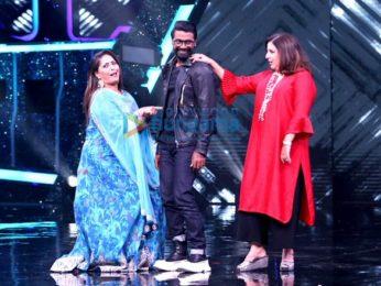 Photos: Remo D'Souza, Farah Khan, Geeta Kapoor on the sets of Super Dancer Chapter 4