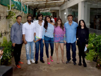 Photos: Shilpa Shetty, Meezaan Jafri, and others snapped at Sunny Super Sound for Hungama 2 song preview