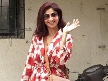 Shilpa Shetty spotted at Kromakay in Juhu