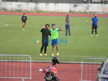 Photos: Ranbir Kapoor, Arjun Kapoor and others snapped at football match in Bandra